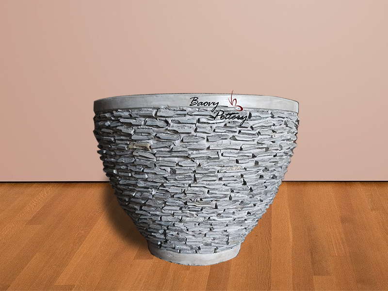 Large Pebble Bowl Planter