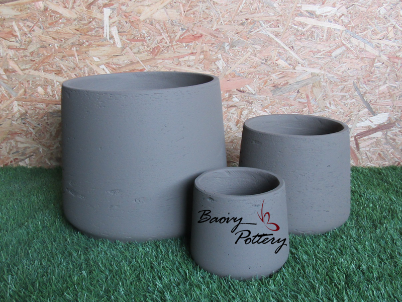 Small Concrete Morden Pot